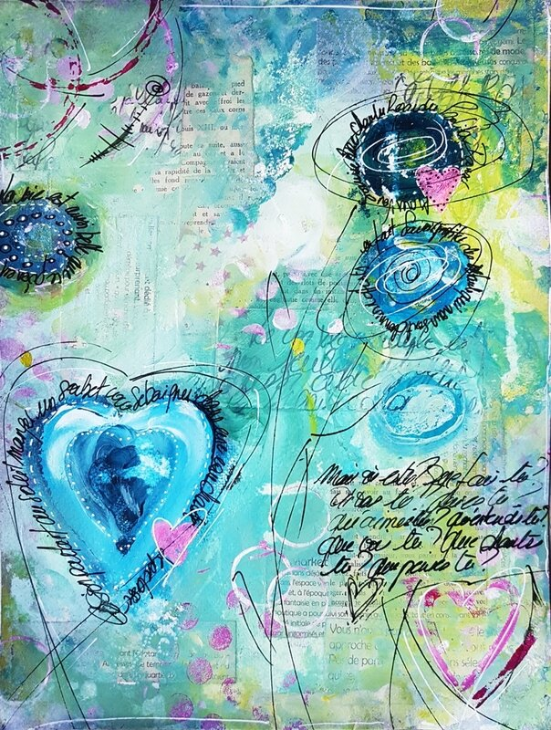 5-Mixed media Anne Sophie 1