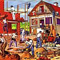 travail maison batiment construction