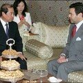 May 26 2006, HRH Prince Moulay Rachid has received a special envoy for South Korean President Roh Moo-Hyun, Kim Byong-Joon, chief secretary to Roh for national policy