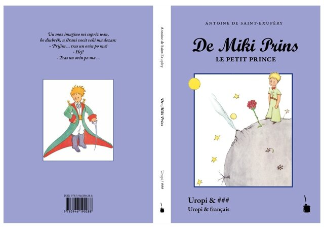 De Miki Prins - Le Petit Prince - The Little Prince in / en Uropi