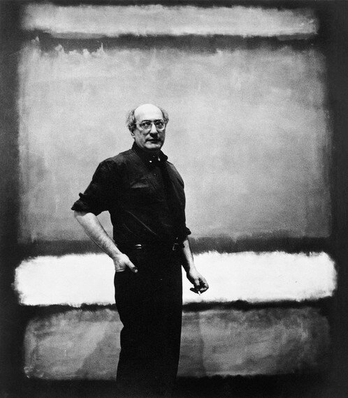 Mark Rothko nello studio