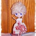 Tiffany - Petite Blythe Fluffy Cuddly Bedtime