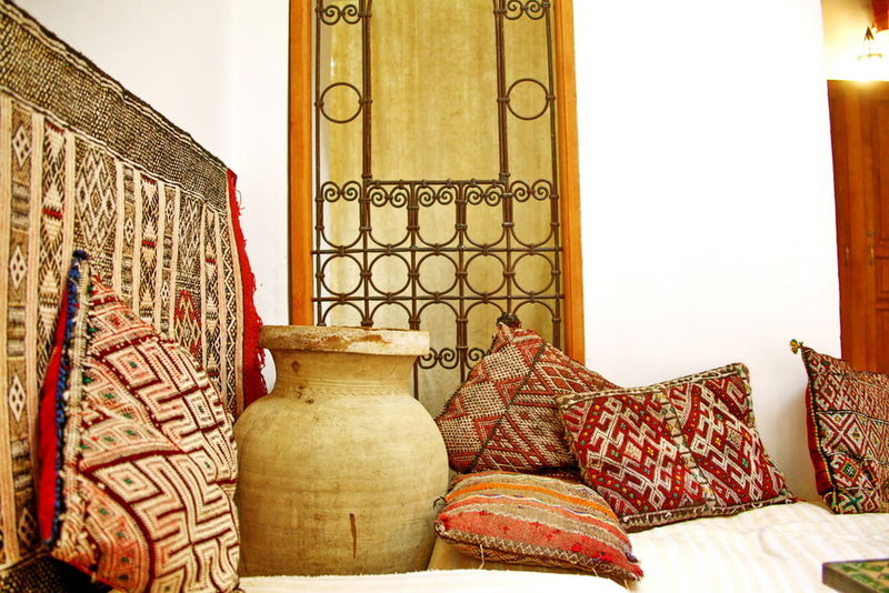 architecture maison marocaine traditionnelle. Black Bedroom Furniture Sets. Home Design Ideas