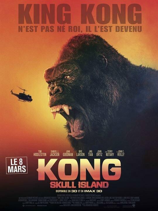 Kong Skull Island affiche