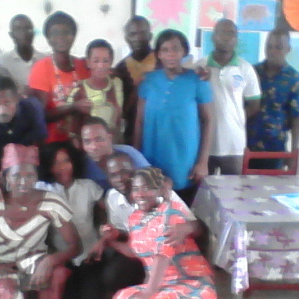 CLUB D'AEC DU CAFOP D'ABOISSO DIRIGE PAR LE PROFESSEUR MABE AUGUSTINE S'EST MIS EN PLACE LE 11 /11/2014 A 18H