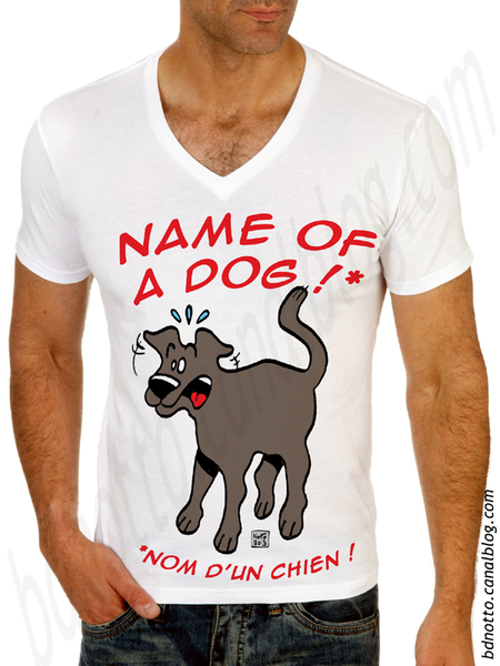 Tshirt 03 - Name of a dog
