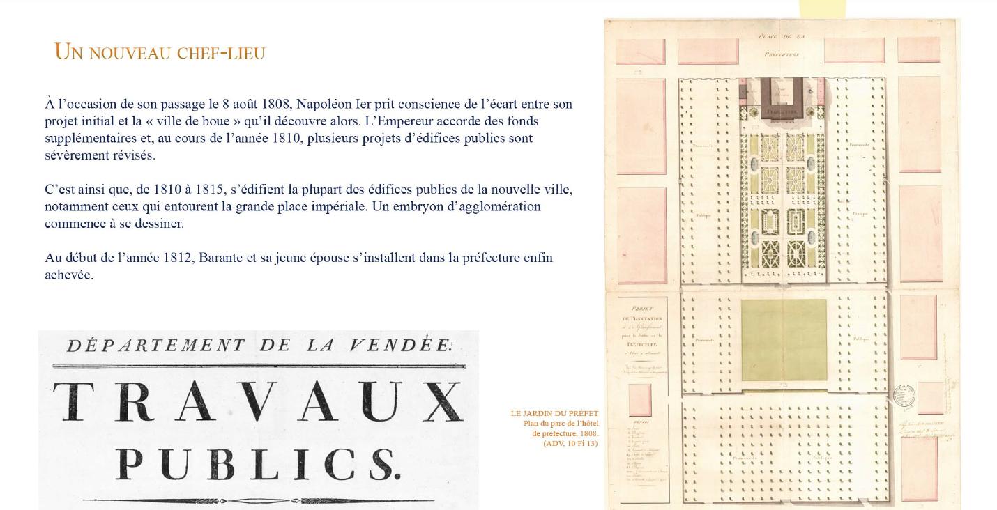 12 février 1809 : Barante nommé préfet de la Vendée