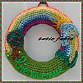 The serial crocheteuse N 149 les couleurs de l'arc en ciel