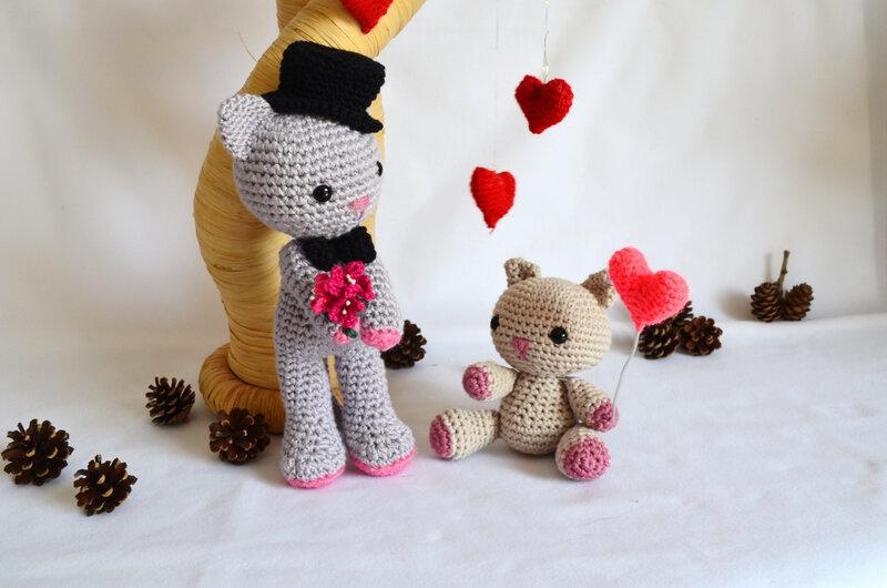 Amigurumi-chat-crochet-laine-animaux-la chouette bricole (9)