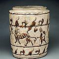 Jarre aux tigres, dynasties Lý et Trân (13e-14e siècle)