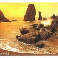 Carte postale : Port-Coton/Belle-Île-en-Mer. Éd. JOS
