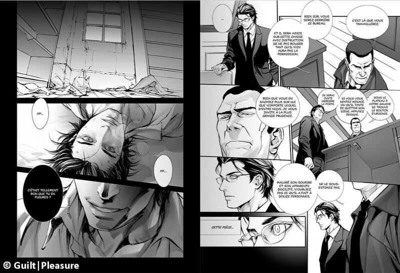 In these words, tome 01, Guilt Pleasure yaoi Taifu Comics Jun Togai Narcissus extrait scan1