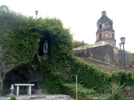 grotto and Santa Maria church