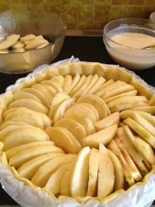 tarte aux pommes 1