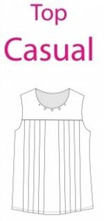 Made In Me Couture - Top Casual