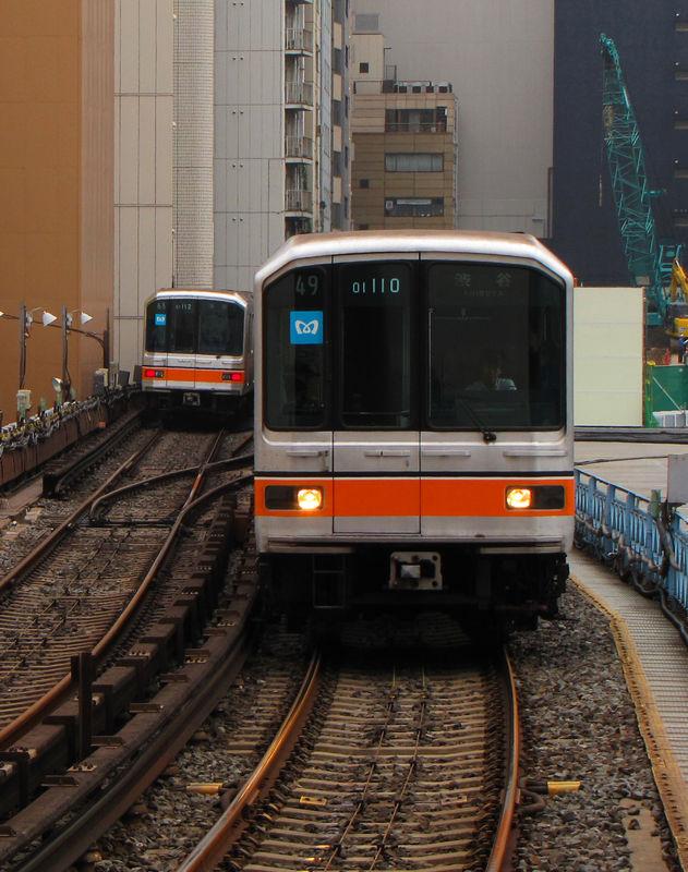 01系 Ginza line