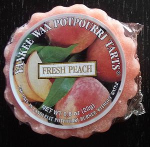 tart fresh peach