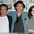 City of Bones Cast at Comic Con 2013 01