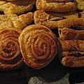 Chocolatines, croissants et pains aux raisins de Noëlle