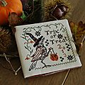 Trix or treat blackbird designs