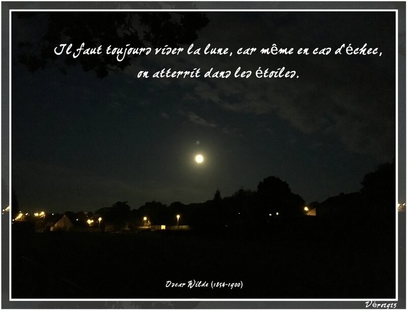 citation oscar wilde viser la lune