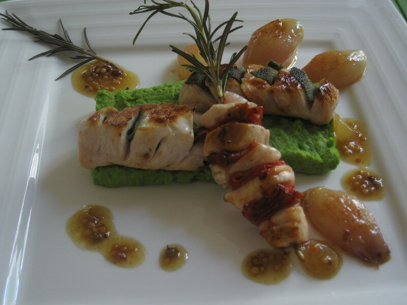 Plats, poissons et viandes