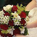 Rouge : mariage autour du rouge et blanc