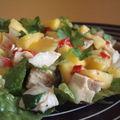 ...salade de mangue/poulet...