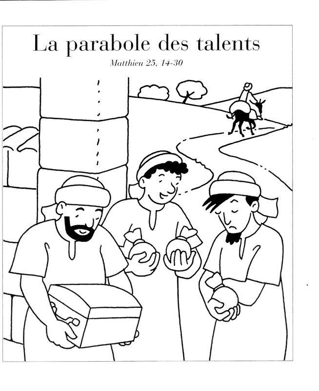 parabole des talents mathieu 25,14