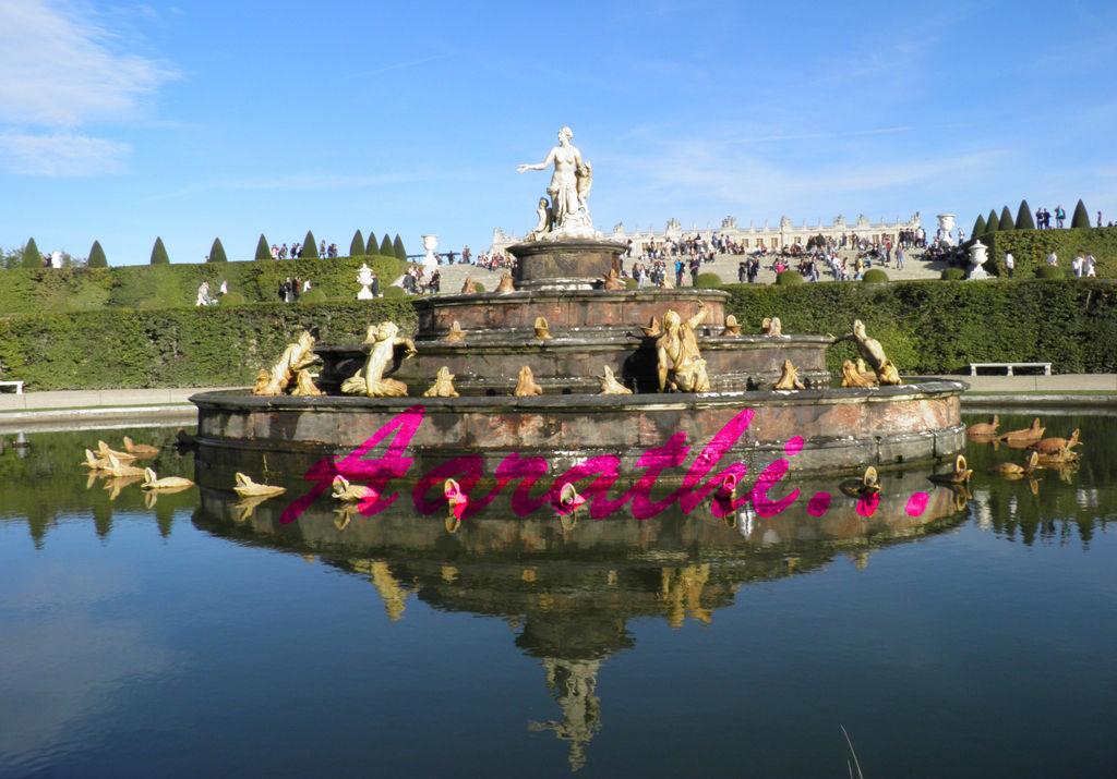 Latona Fountain - Versailles
