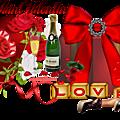Cadres st valentin