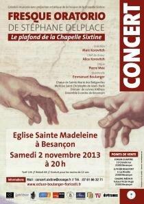 Découvrez la version orchestrale du Plafond de la chapelle Sixtine sur le site