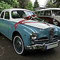 Alfa romeo 1900 super berlina 1950 à 1959