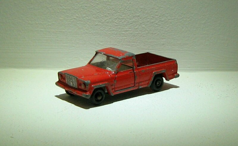 Jeep gladiator (ref 71)(Matchbox)