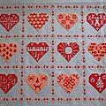 Réédition des coeurs de 2011 -*-*-*- octobre à décembre
