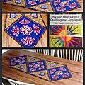 Dessus de table en patchwork