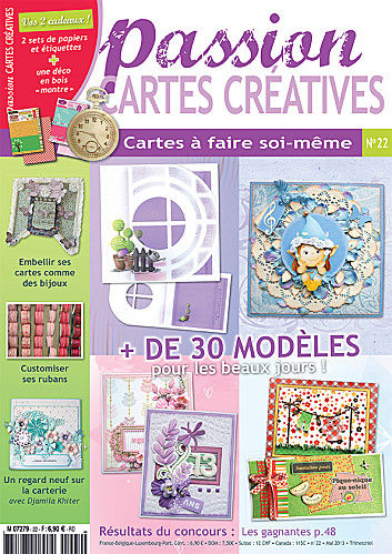 "Passion ""Cartes Creatives"" N°22"