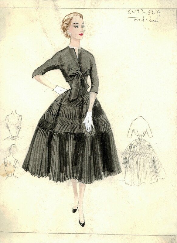 Bergdorf Goodman Archives. Coctail & Evening Dresses: Fabiani