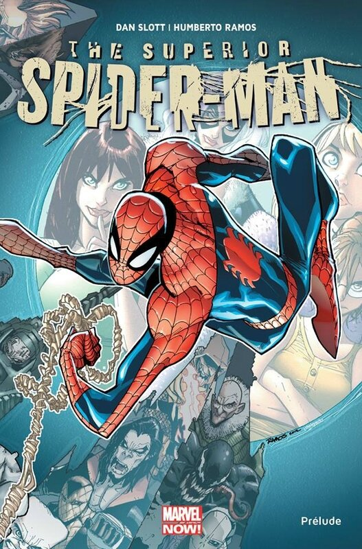 marvel now superior spiderman prélude