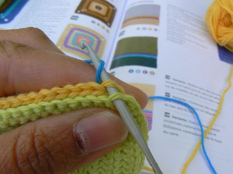 assemblage au crochet