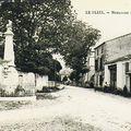 Ancien Emplacement vue direction Bergerac