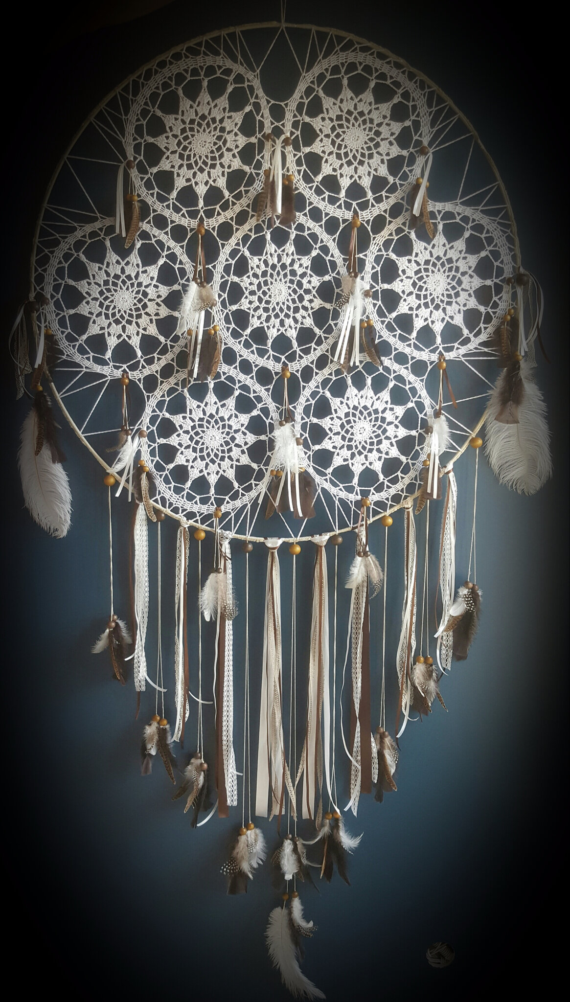 Mon dream catcher géant