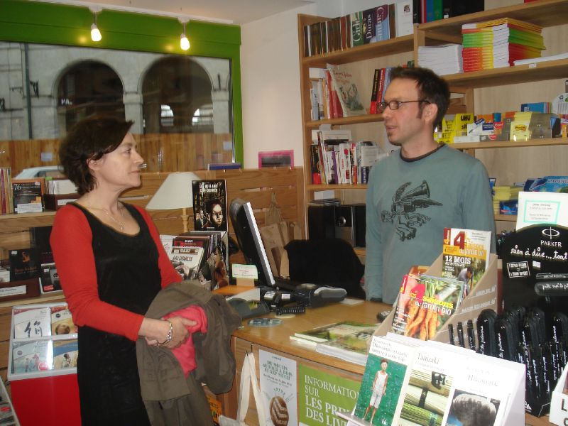 After, ou discussion informelle avec libraire !