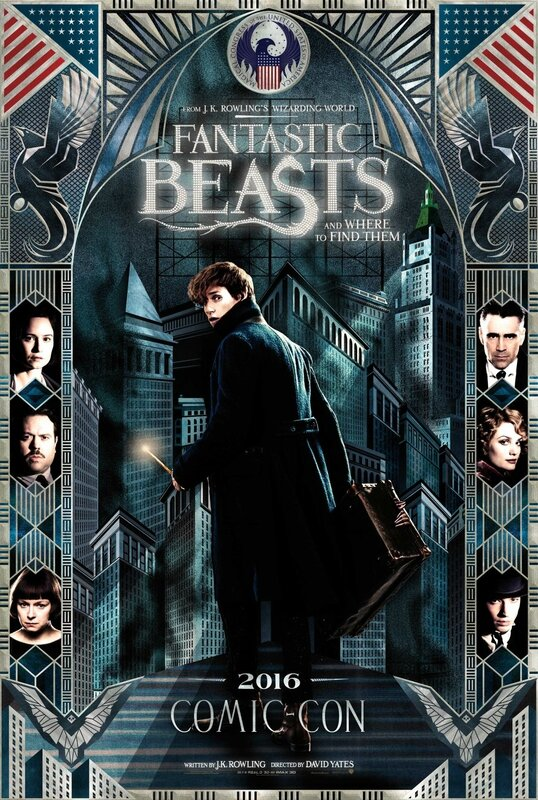 Fantastic Beasts_Comic Con 2016 poster