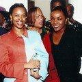 Avec la reine du Swaziland