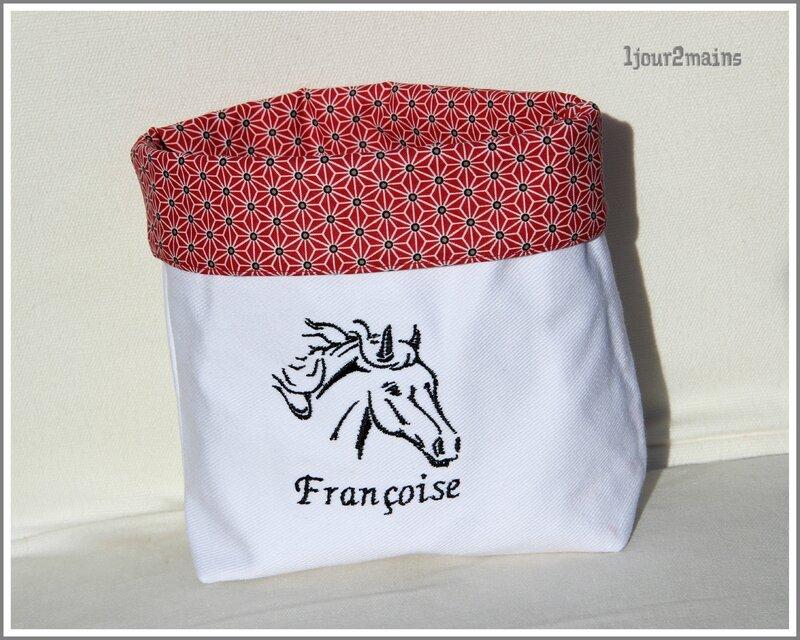 paniere cheval françoise