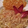 Un risotto amer comme dans top chef
