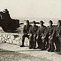 Rocher de la Vierge Biarritz 1942