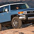 Rappel de Toyota FJ Cruiser 2007  2013 (CPA)