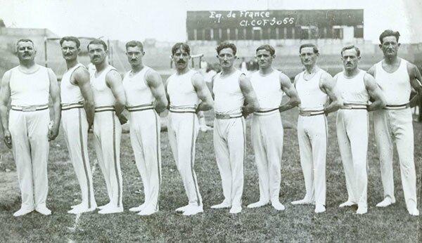 JO 1924 Equipe de France